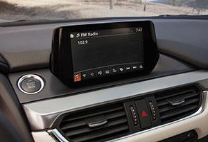 Mazda Mazda6 Heads-up Display